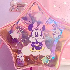 New Disney backpack Minnie Mouse bag Mini backpack